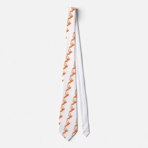 El caballero blanco corbata
