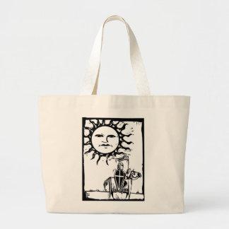 El caballero debajo de Sun hace frente Bolsas