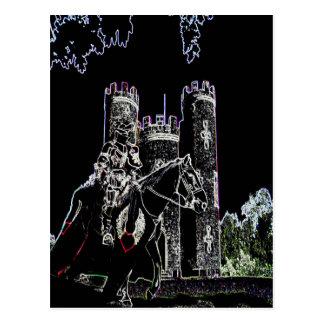 El caballero del castillo de Blaise Postal