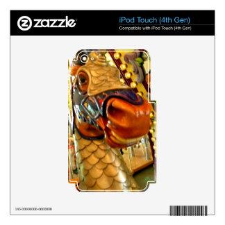 El caballero II Calcomanías Para iPod Touch 4G