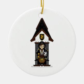 El caballero negro adorna a caballo ornamento de reyes magos