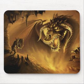 El caballero valiente - Mousepad