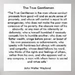 El caballero verdadero poster