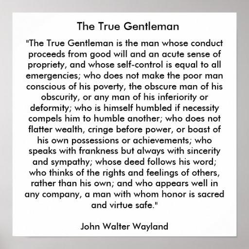 El caballero verdadero póster