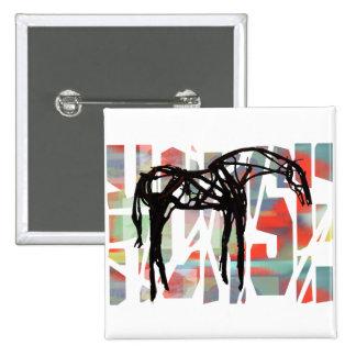 El caballo abstracto pins