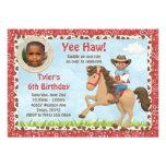 El caballo afroamericano del vaquero embroma a la  anuncio personalizado