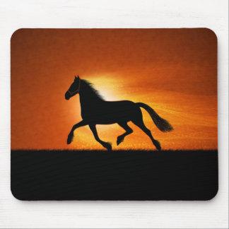 El caballo corriente tapete de ratón