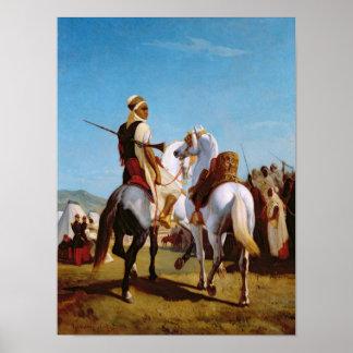 El caballo de Gaada, o el caballo de la presentaci Poster