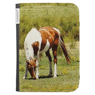 El caballo de la pintura enciende la caja