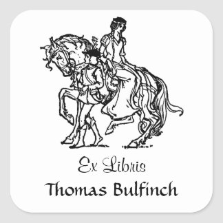 El caballo de Leading Lady de la página Colcomanias Cuadradas Personalizadas