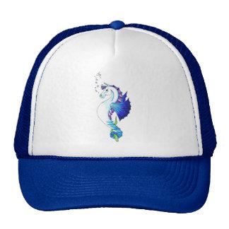 El caballo del agua azul gorra