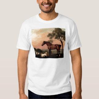 El caballo del vintage polera