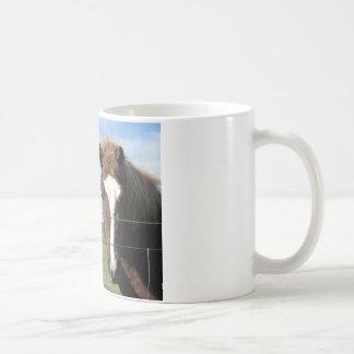 El caballo islandés - amigo real taza