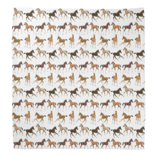 El caballo lindo pare pañuelo bandanas