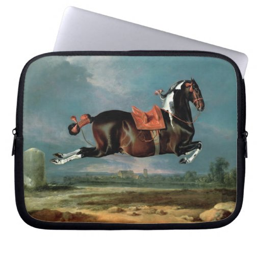 """El caballo picazo """"Cehero que alza el monograma Fundas Ordendadores"""