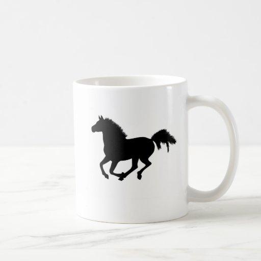 El caballo que galopa caballos del amor de I asalt Taza Básica Blanca