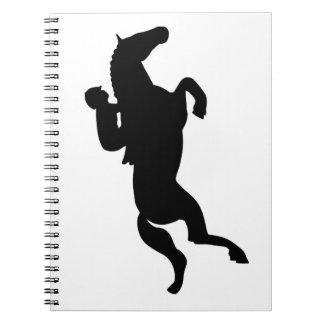 El caballo salta libreta