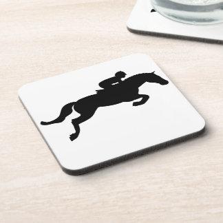 El caballo salta posavasos