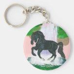 El caballo soña llavero andaluz del caballo