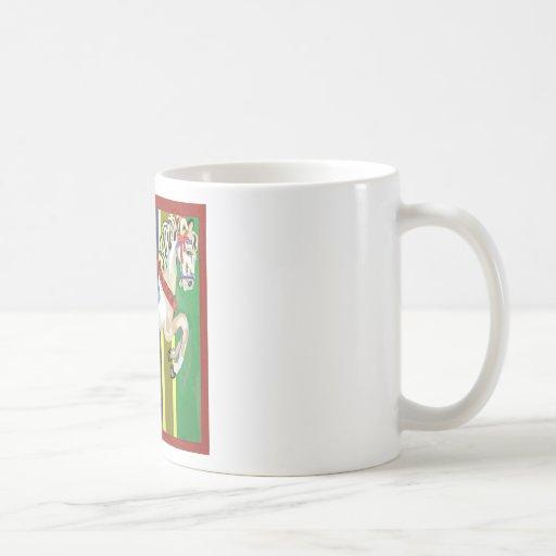 el caballo taza de café