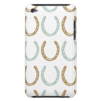 El caballo temático ecuestre calza el modelo iPod touch protectores