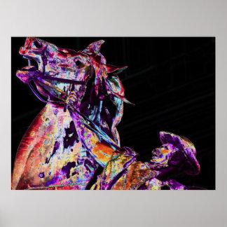 El caballo Wrangler 3 Impresiones