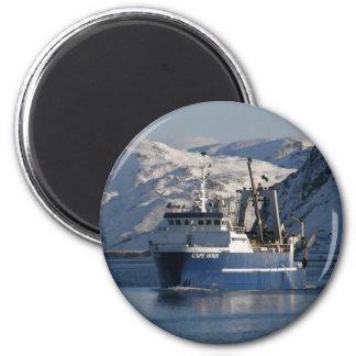 El cabo de Hornos, barco rastreador de fábrica en  Iman