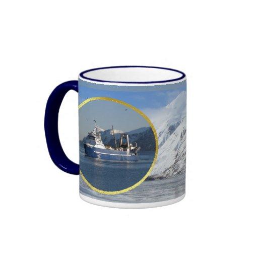 El cabo de Hornos, barco rastreador de fábrica en  Taza De Café