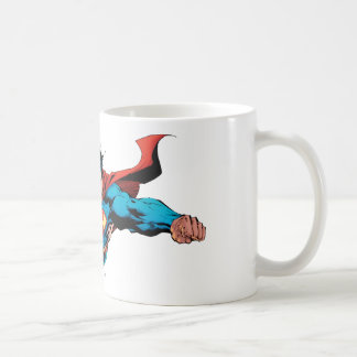 El cabo del superhombre vuela taza de café