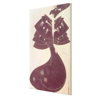 El cabo negro, ejemplo para el editi inglés impresiones en lona