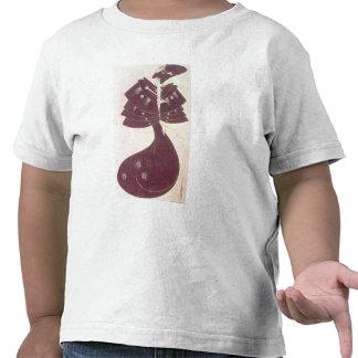 El cabo negro, ejemplo para el editi inglés camisetas
