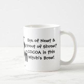 ¡El cacao es el Brew de esta bruja! Una taza fresc