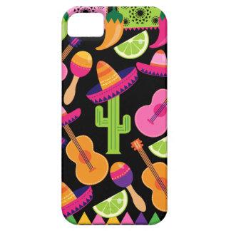 El cactus del sombrero del fiesta de la fiesta abo iPhone 5 Case-Mate cárcasa