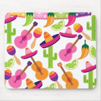 El cactus del sombrero del fiesta de la fiesta abo tapete de ratones