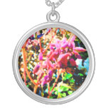 el cactus floral abstracto florece rosa grimpola personalizada