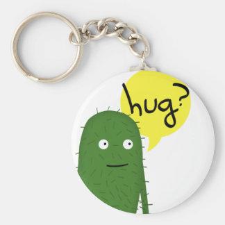 el cactus quiere un cierto amor llavero redondo tipo pin