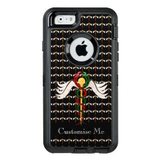 El caduceo (a todo color) funda otterbox para iPhone 6/6s
