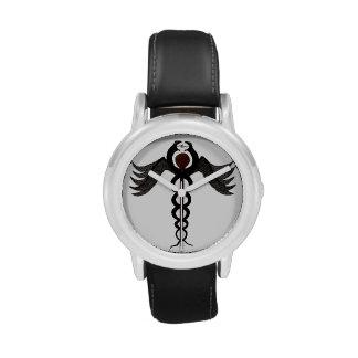 El caduceo relojes de pulsera