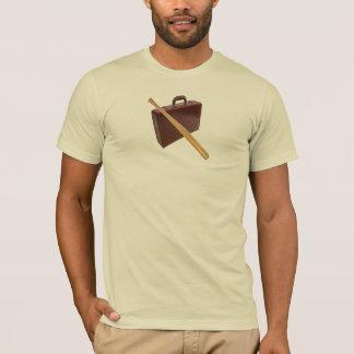 El caer abajo camiseta
