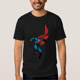 El caer abajo - superhombre remeras