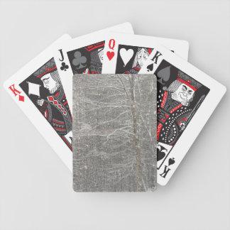 El caer de la nieve baraja de cartas
