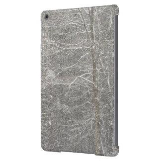 El caer de la nieve funda para iPad air