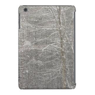 El caer de la nieve funda para iPad mini retina