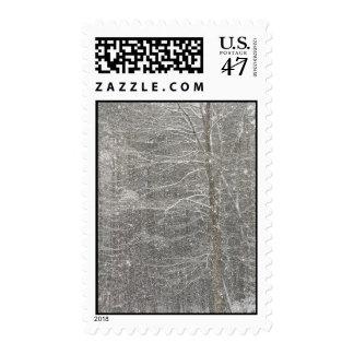 El caer de la nieve timbres postales