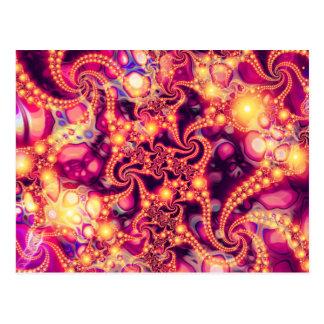 El caer dentro (caliente) - extracto psicodélico postales
