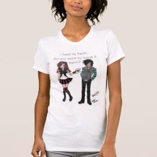 el caer en amor con la persona incorrecta otra vez camiseta