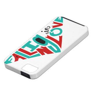 El caer en amor iPhone 5 carcasa