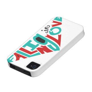 El caer en amor Case-Mate iPhone 4 funda