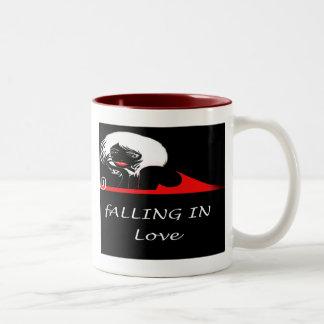el caer en taza del amor