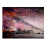 el caer grande del cielo postal